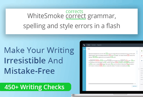 WhiteSmoke Grammar Check Tool is a grammar correction tool with features such as spelling, grammar etc.