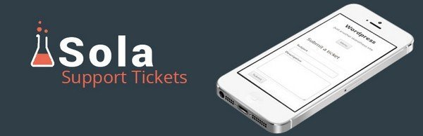 Sola Support Tickets is a free WordPress customer support plugin.