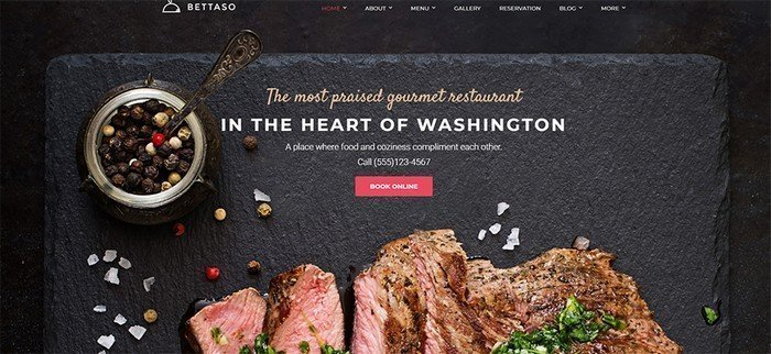 Welcome to our digital kitchen and let us get familiar with Betasso WordPress theme.