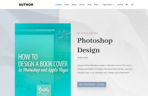 Author is a beautiful and powerful WordPress theme.