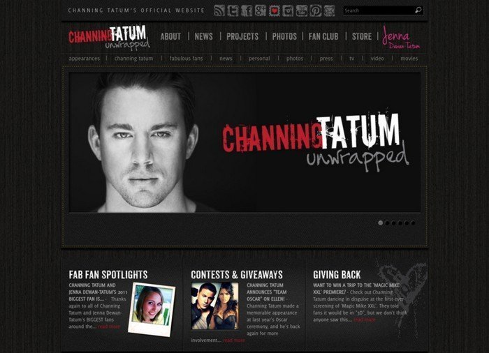 Channing Tatum is a American actor and also a singer.