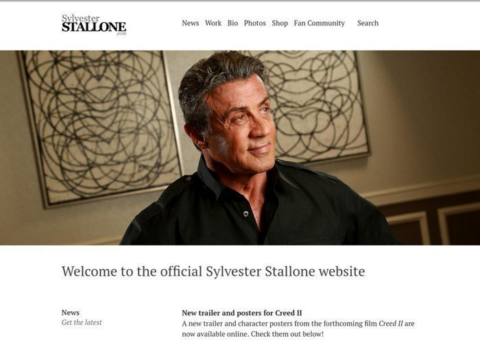 Sylvester Stallone is an American actor best known for the Rocky and Rambo movies.