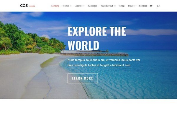 Travel Agency Three Theme is a professionally designed WP theme.