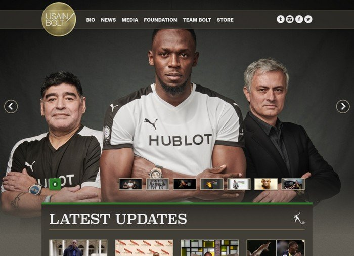 Usain Bolt is a known Jamaican sprinter.