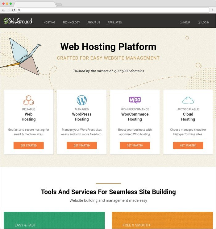 SiteGround is a highly-recommended WordPress hosting services.