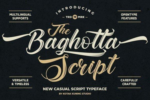 Baghotta Font