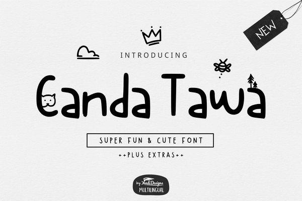 Canda Tawa Font
