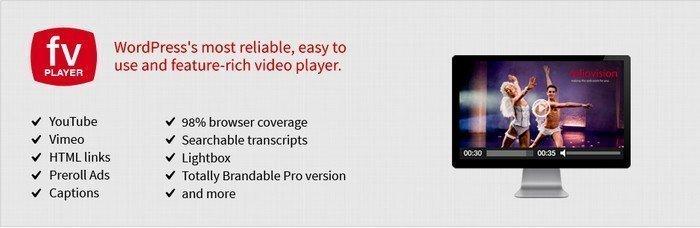 Free Version FV FlowPlayer Video Player