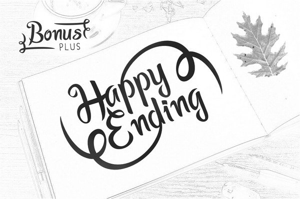 Wasabi Asian Style font, Algae font, Realm font and Happy Ending Preview font.