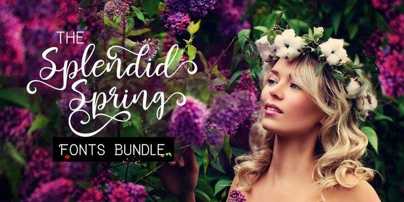 Splendid Spring Fonts