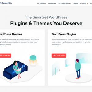 WPManageNinja WordPress Themes and Plugins.
