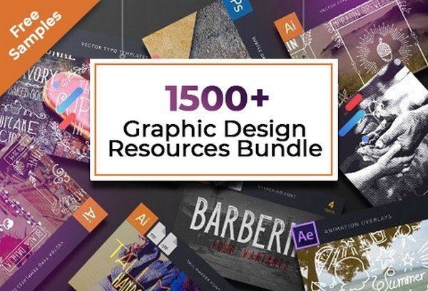 With this design resources bundle you get everything you need graphically.