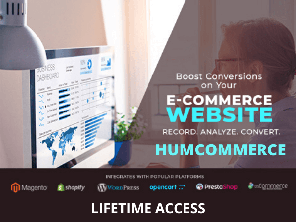 HumCommerce is a CRO plugin for every entrepreneur and company.