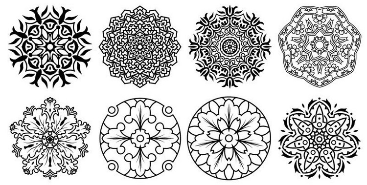 Mandala designs are immensely popular right now.