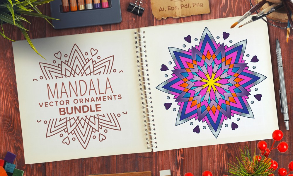 The Unique Mandala Designs Bundle