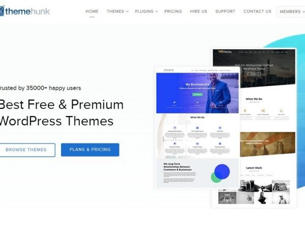 ThemeHunk WordPress Themes.