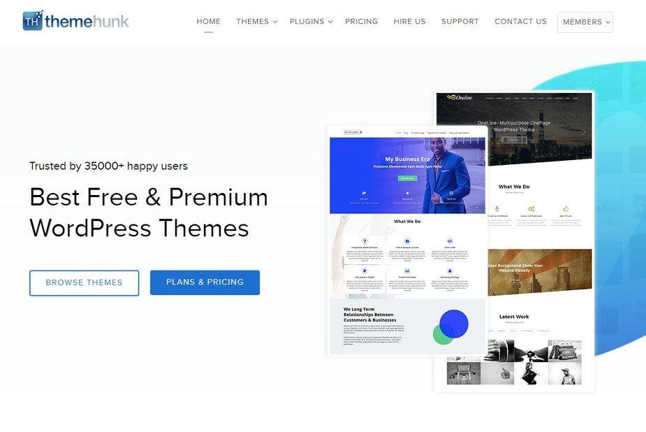 ThemeHunk WordPress Themes.