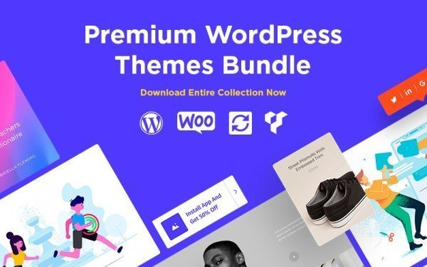 With this bundle from VisualModo, you get access to 38 themes.
