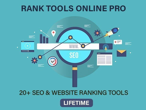 RankTools Online App PRO can help you get at the top of Google search results.