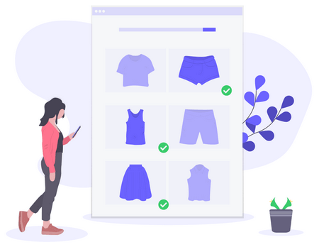 A report shows that about 68% of people will leave an online store without buying.