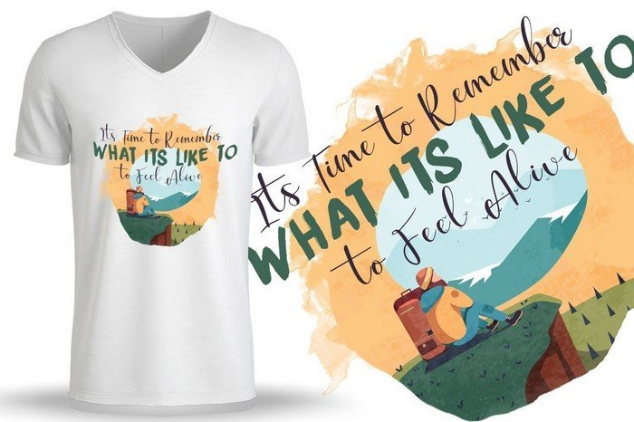 T-Shirt Design Bundle - You can use these designs for travel, trips and holidays t-shirts.