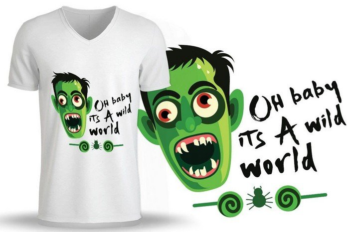 If you plan to organize a horror movie night with your friends, you can use these monster designs.