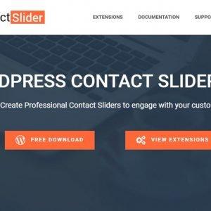 WP Contact Slider is a WordPress plugin to display contactform7, Caldera forms, Wp Forms, etc.