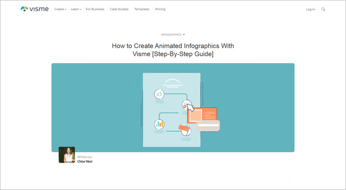 With Visme Infographic Video Maker you can create great animated infographic videos.