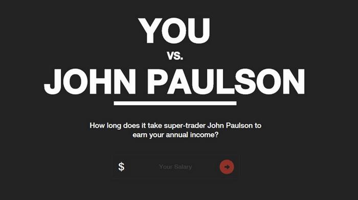 You versus John Paulson by MahiFX
