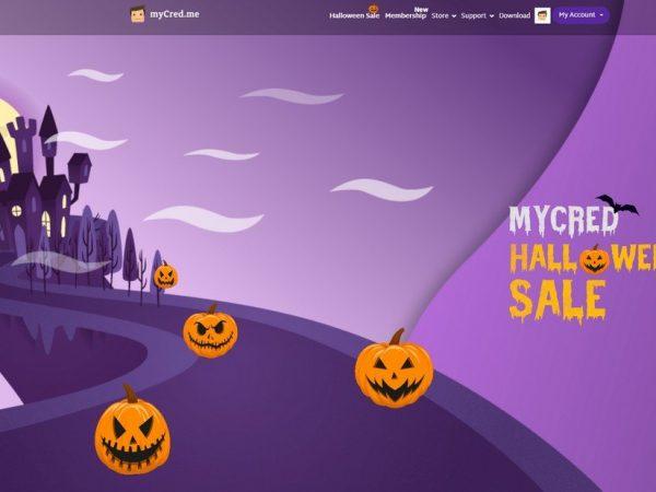 myCred Halloween
