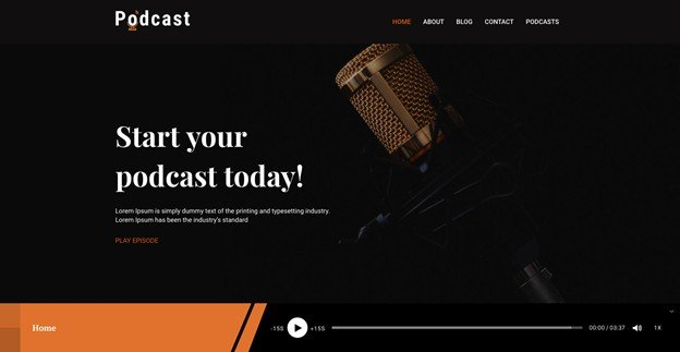 Podcast is a responsive Podcast WordPress theme for a audio podcast.