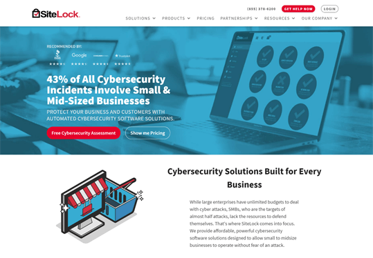 Website security - You can also use paid sources like SiteLock.