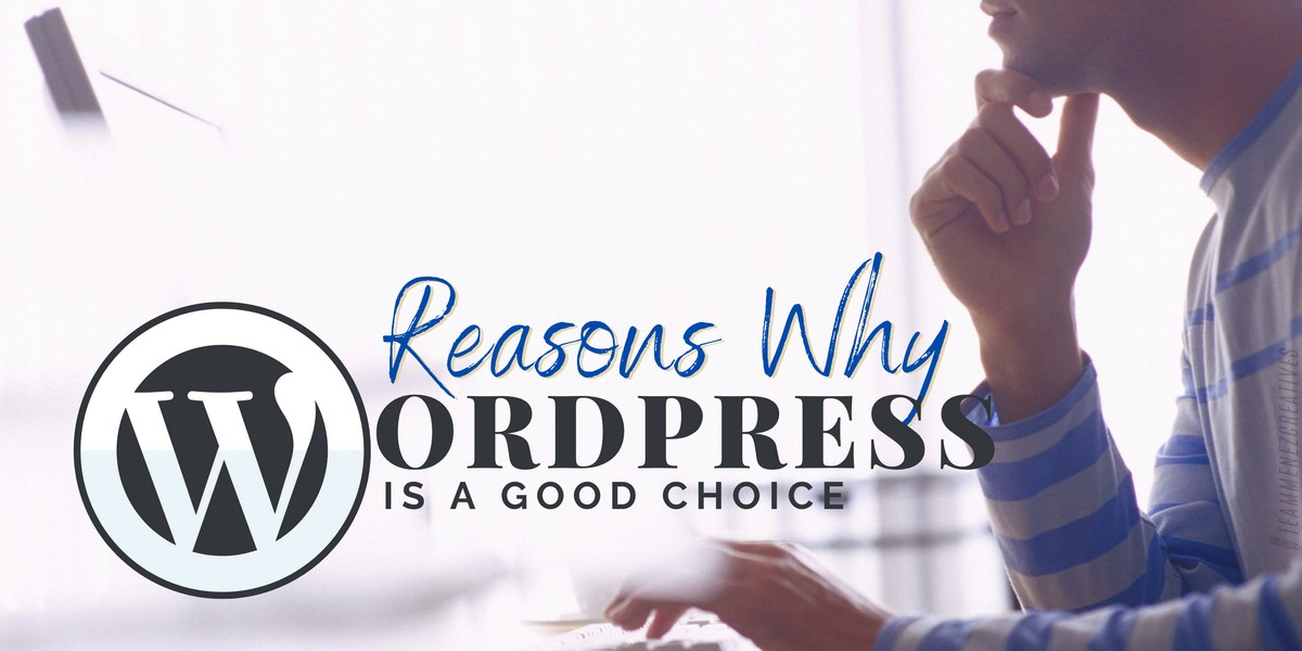 5 Reasons Why WordPress is a Good Choice for Your Website