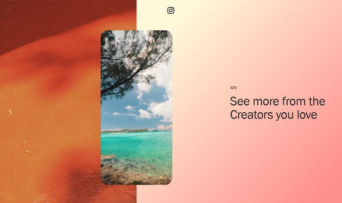 Instagram TV allows users to upload long-term, high-quality, and vertical videos.