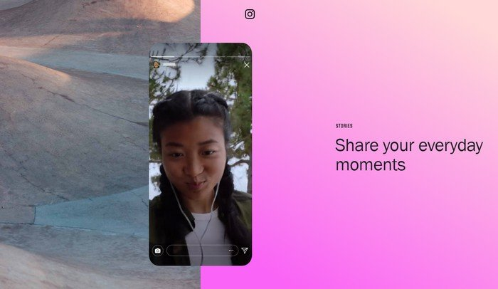 Instagram stories are a full-screen visual format that allows users to upload images and videos that vanish after 24 hours.