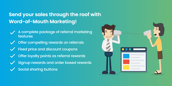 If you want to boost your sales through Word of mouth marketing, the Referral system for WooCommerce is one of the best choice.