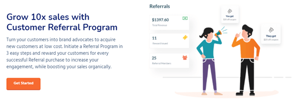 Retainful is a WooCommerce great option to run a dynamic Referral program in your store.