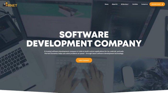 Hornet is a leading software program development employer.